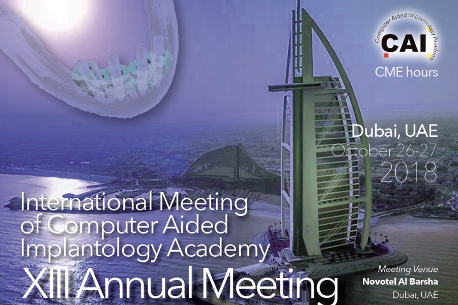Past event: XIII CAI Academy Annual Meeting in Dubai